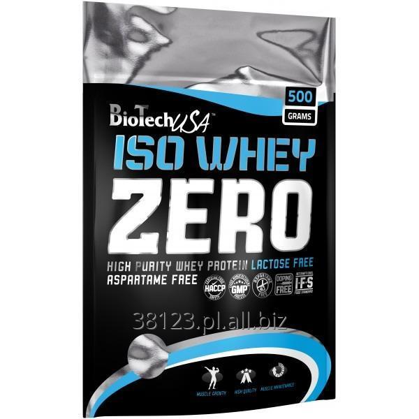 Kupić BioTech USA - Iso Whey zero 500gram