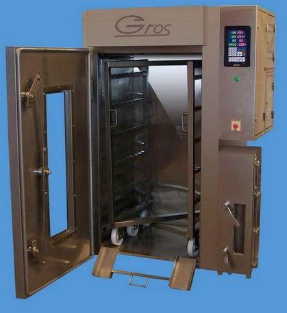 Kupić Komory wędzarniczo-parzelnicze z funkcją pieczenia (pasztetów i mięsa) w temperaturze do 180 ºC