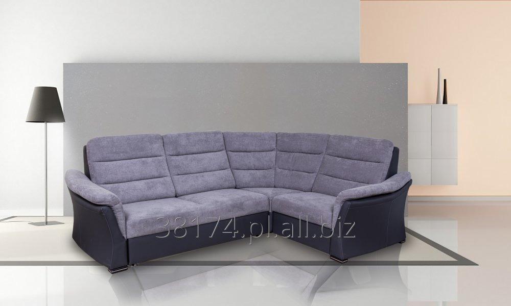 Kupić Narożnik VIKI został zaprojektowany z myślą o wygodzie i komforcie; kanapa narożna z funkcją spania, pojemnikiem na pościel, rozmiar, tkanina i kolor na zamówienie klienta.