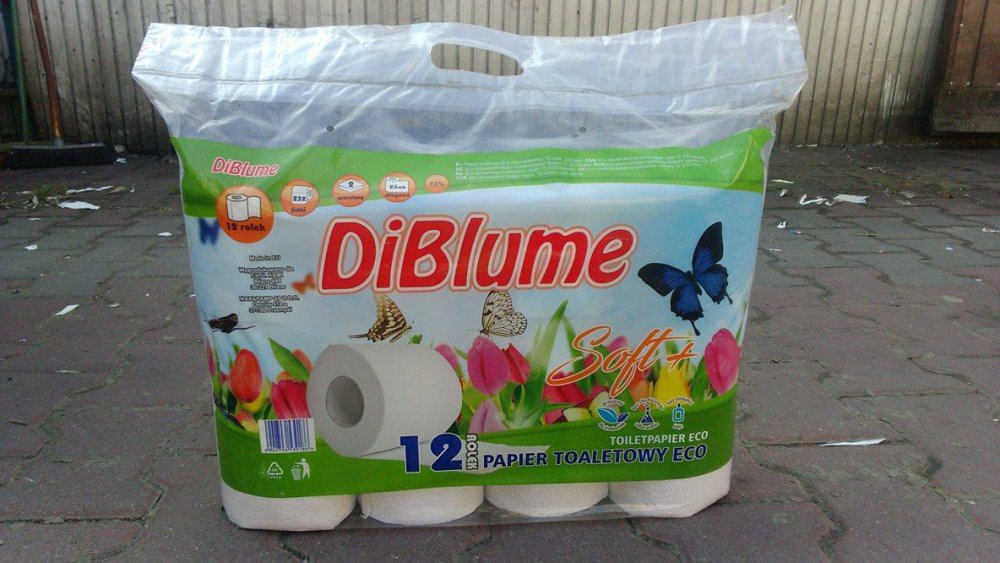 Kupić DiBlume Papier Toaletowy ECO 12 rolek