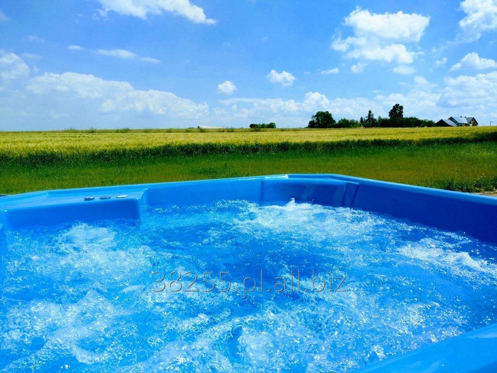 Kupić Jacuzzi ogrodowe Spa Lato Zima 37 dysz Hot Tub