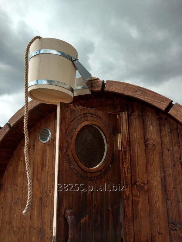 Kupić Wiadro Prysznicowe,Bosmańskie do schładzania Sauna