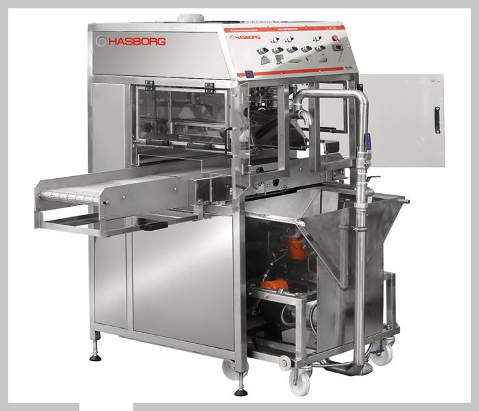 LUXOR, automat do oblewania czekoladą, lukrem, pomadami