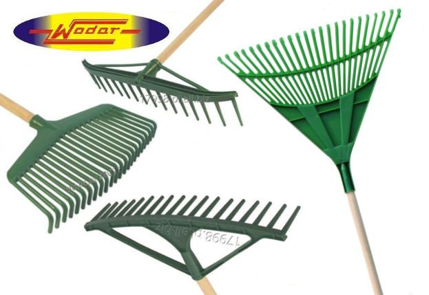 Kupić Grabie do liści różne rodzaje: wachlarzowe, szwedzkie, do siana, do liści