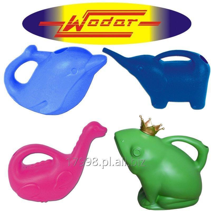 Kupić Konewki do wody różne wzory: Słonik, dino, delfin, żabka. Różne kolory, produkcja w Polsce.