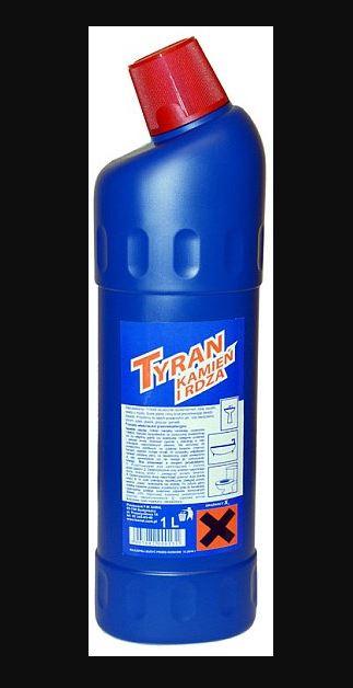 Kupić TYRAN żel do czyszczenia urządzeń sanitarnych 1l