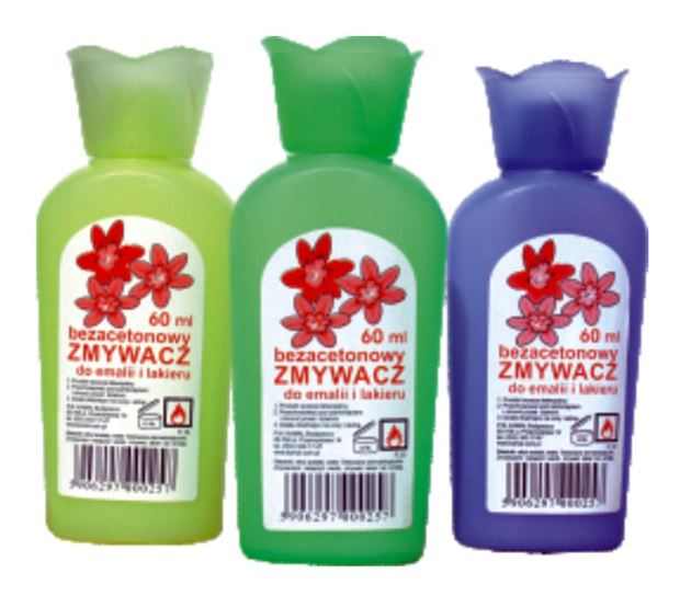 Zmywacz do emalii bezacetonowy 60ml