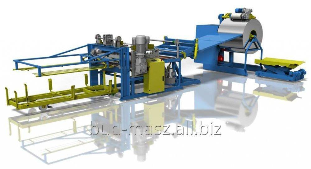 Buy LINE FOR SLITTING METAL SHEETS WITH THICKNESS 3,0mm