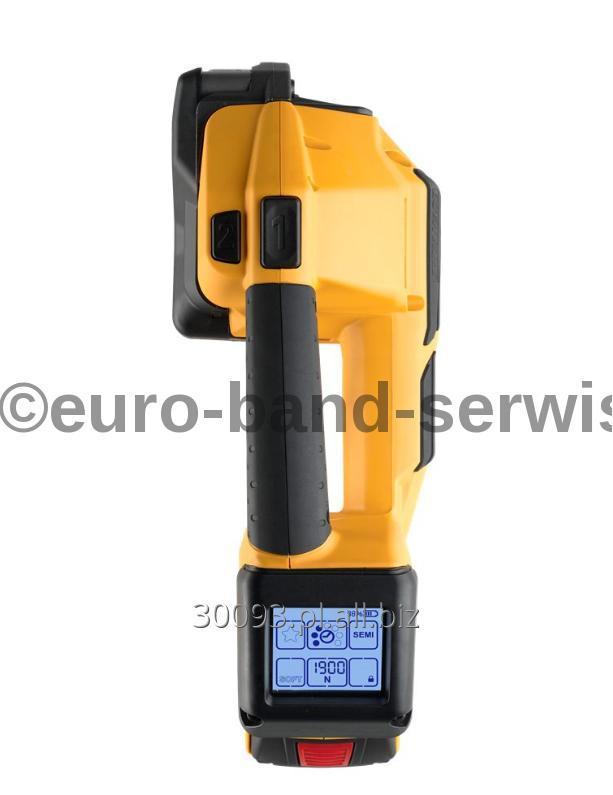 Kupić Wiązarka akumulatorowa (bandownica, bindownica) do taśm polipropylenowych (PP) oraz PET - STRAPEX STB 71