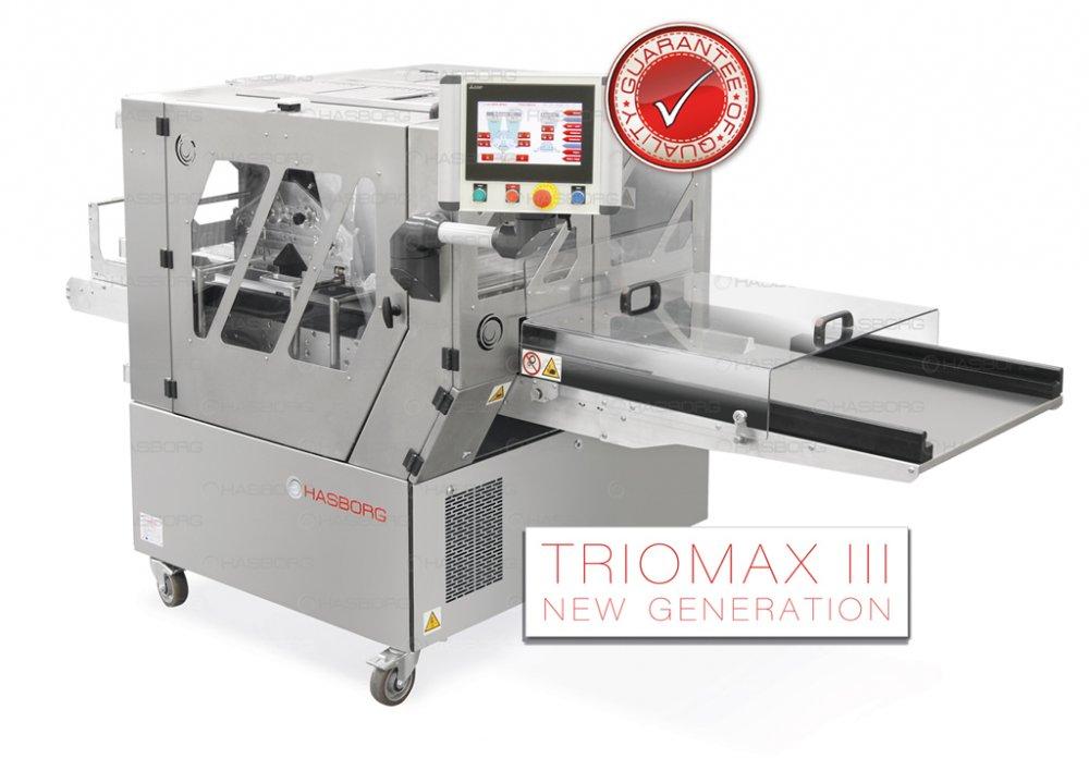 TRIOMAX III automat do produkcji wielu rodzajów ciastek