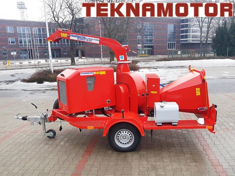 Kupić Rozdrabniarka do gałęzi firmy Teknamotor model Skorpion 250 SDT (nowa)