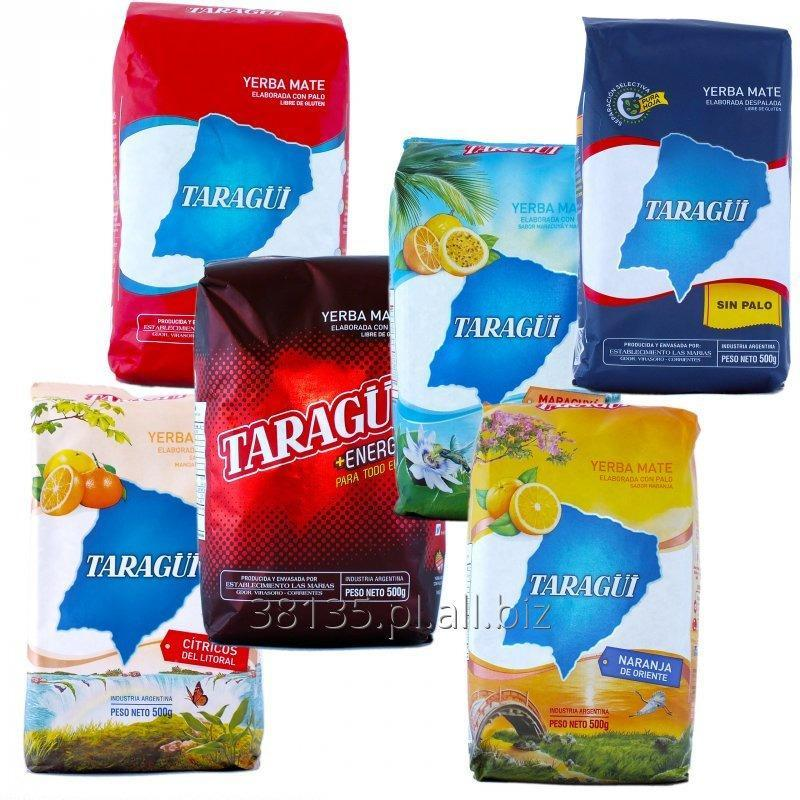 Kupić Yerba mate Taragui Con Palo / Sin Palo / Citricos / Energia / Pera / Naranja etc. 1kg / 0,5kg / 0,25kg