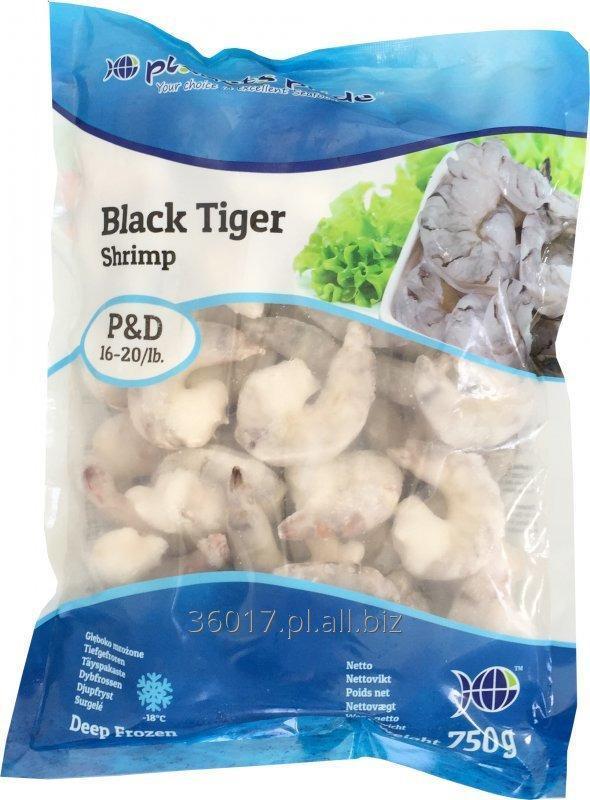 Kupić Krewetki mrożone Vannamei i Black Tiger