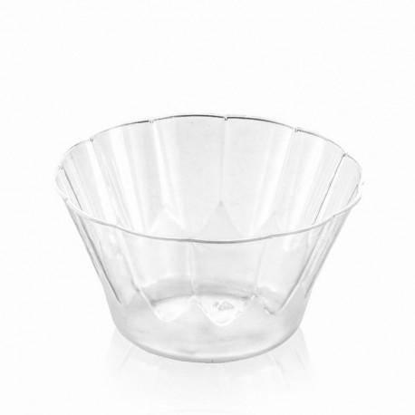 Kupić Pucharek Deco 100ml szkłopodobny, waga sztuki 7g, wymiary 75 x 41mm, miseczka do lodów, kremów, musów, i innych deserów.
