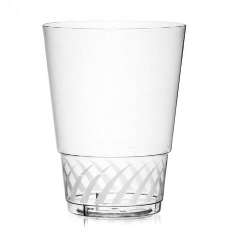 Kupić Szklanka bankietowa Glass szkłopodobna ze zdobieniem, pojemność 236ml, waga sztuki 11g, wymiary 74 x 98mm, szklaneczka barowa, catering.
