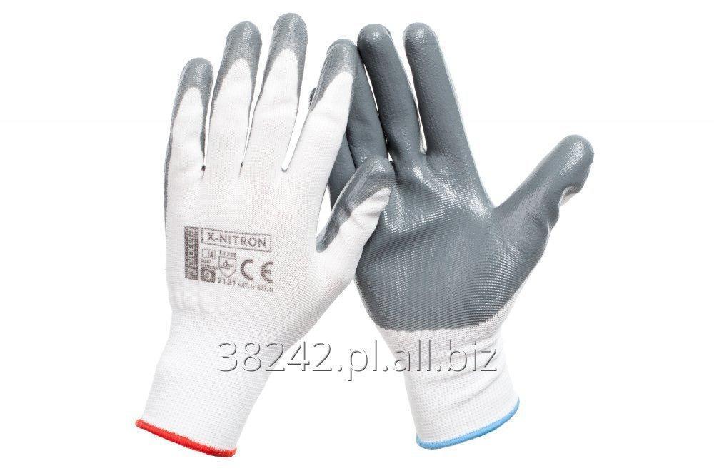 Kupić Rękawice ochronne powlekane nitrylem