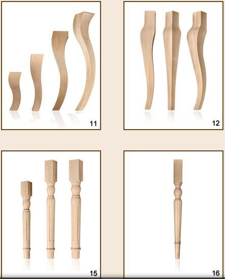 Kupić Nogi drewniane do stołów i ław.