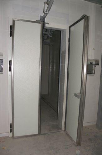 Kupić Drzwi zawiasowe technologiczne dostosowane do toru transportu tusz