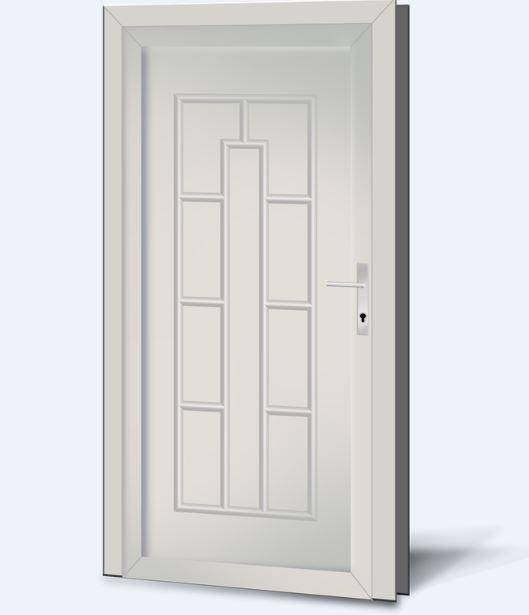 Wypełnienia drzwiowe PCV Basic Line 19
