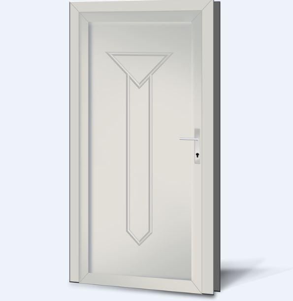 Wypełnienia drzwiowe PCV Basic Line 21