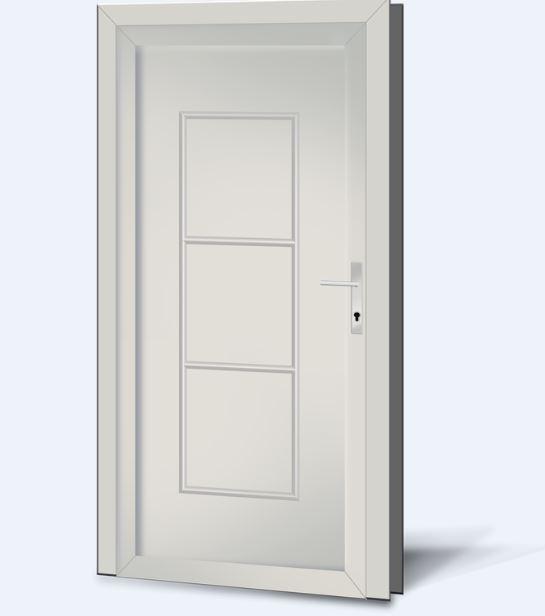 Wypełnienia drzwiowe PCV Basic Line 22