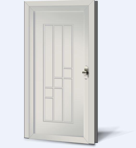 Wypełnienia drzwiowe PCV Basic Line 23