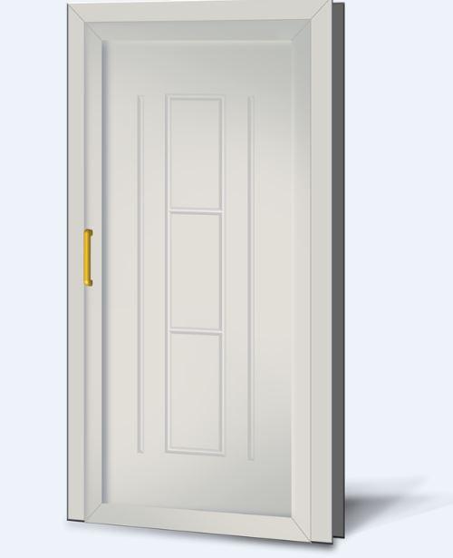 Wypełnienia drzwiowe PCV Basic Line 24