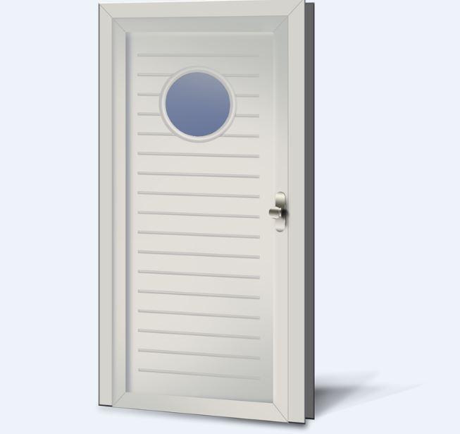 Wypełnienia drzwiowe PCV Basic Line 61s