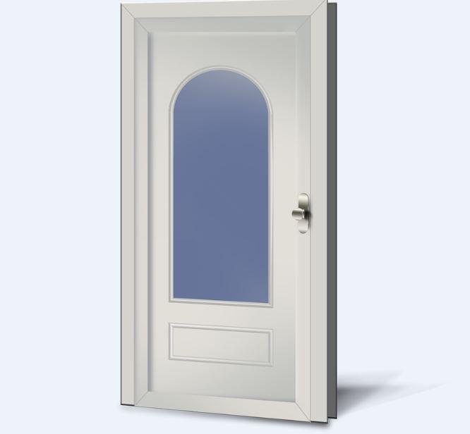 Wypełnienia drzwiowe PCV Basic Line 201