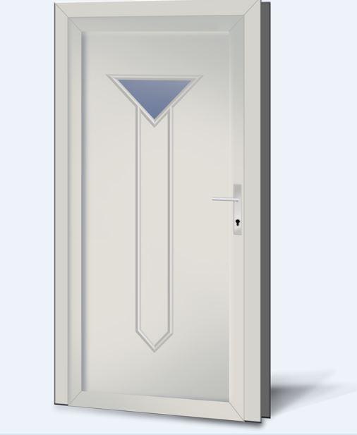 Wypełnienia drzwiowe PCV Basic Line 211