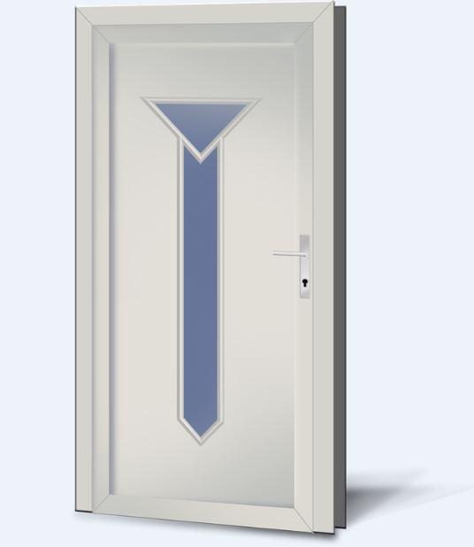 Wypełnienia drzwiowe PCV Basic Line 212