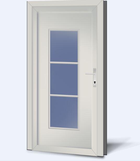 Wypełnienia drzwiowe PCV Basic Line 223