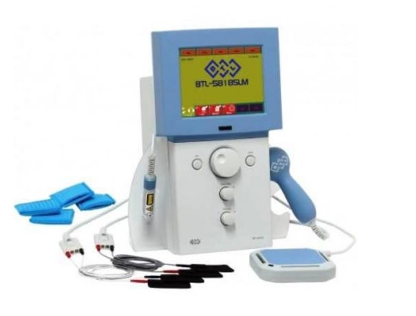 Kupić Aparat do terapii ultradźwiękowej, elektroterapii, laseroterapii oraz magnetoterapii BTL 5818 SLM Combi