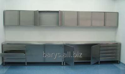 Kupić Kompleksowe wyposażenie dla zakładów gastronomicznych, ciągi szafek ze stali nierdzewnej, umywalki nierdzewne gastronomiczne