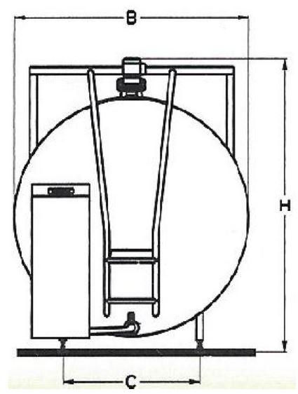 Kupić Schładzalnik do mleka ALSC typ okrągły