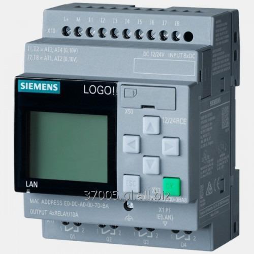 Kupić Sterownik Siemens LOGO! 12/24 RCE Siemens 6ED1052-1MD00-0BA8