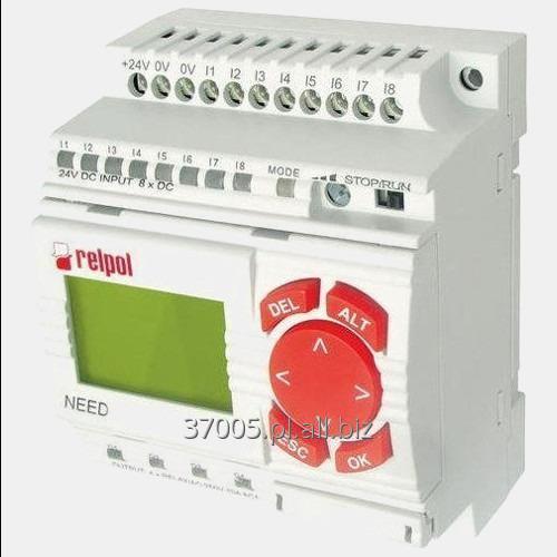 Kupić Sterownik 8 wejść i 4 wyjść przekaźnikowych NEED-12DC-22-8-4R-D Relpol