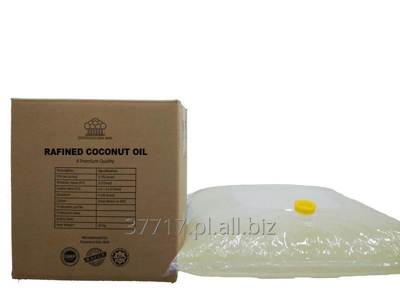 Kupić Olej kokosowy rafinowany