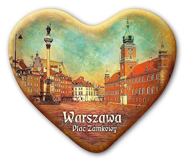 Kupić Magnes na lodówkę Warszawa serce