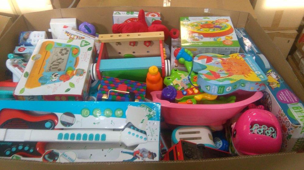 Zabawki dziecięce outlet, mix zabawek z Wielkiej Brytanii