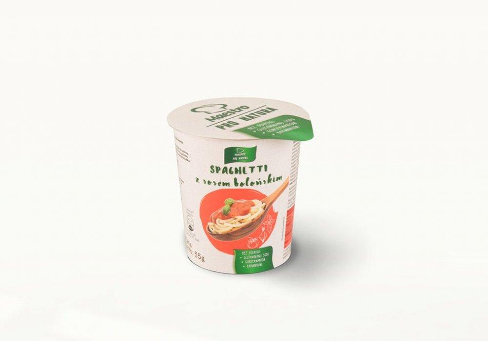Danie w kubku Spagetti z sosem bolońskim 250ml