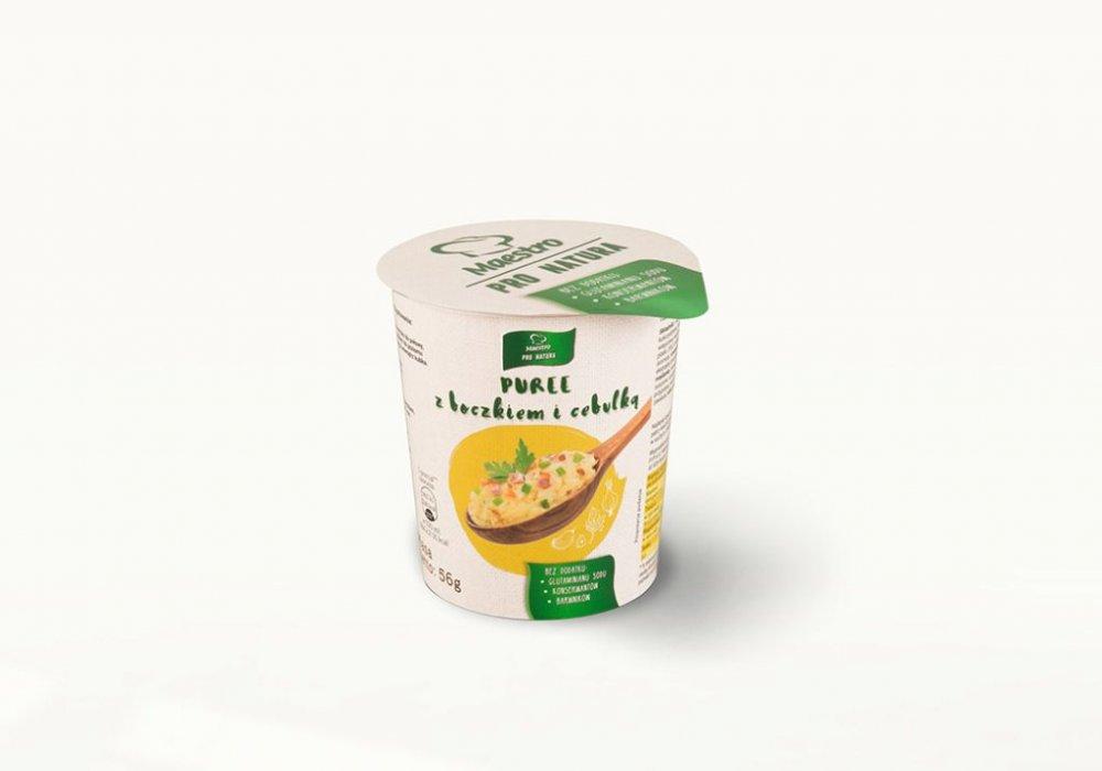 Danie w kubku Puree z boczkiem i cebulką 250ml