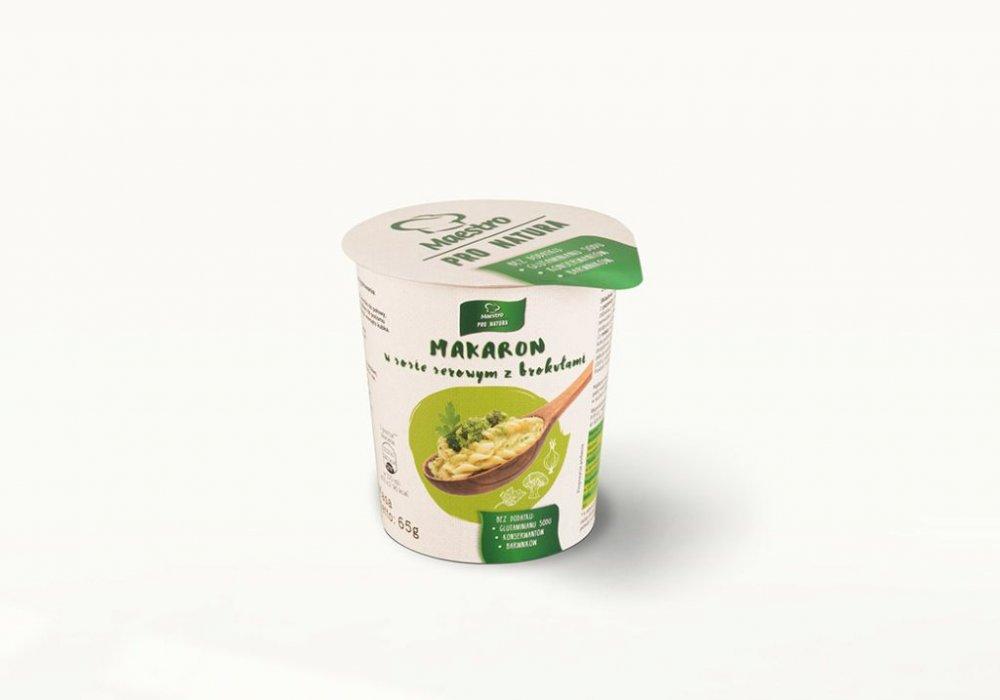 Danie w kubku Makaron w sosie serowym z brokułami 250ml