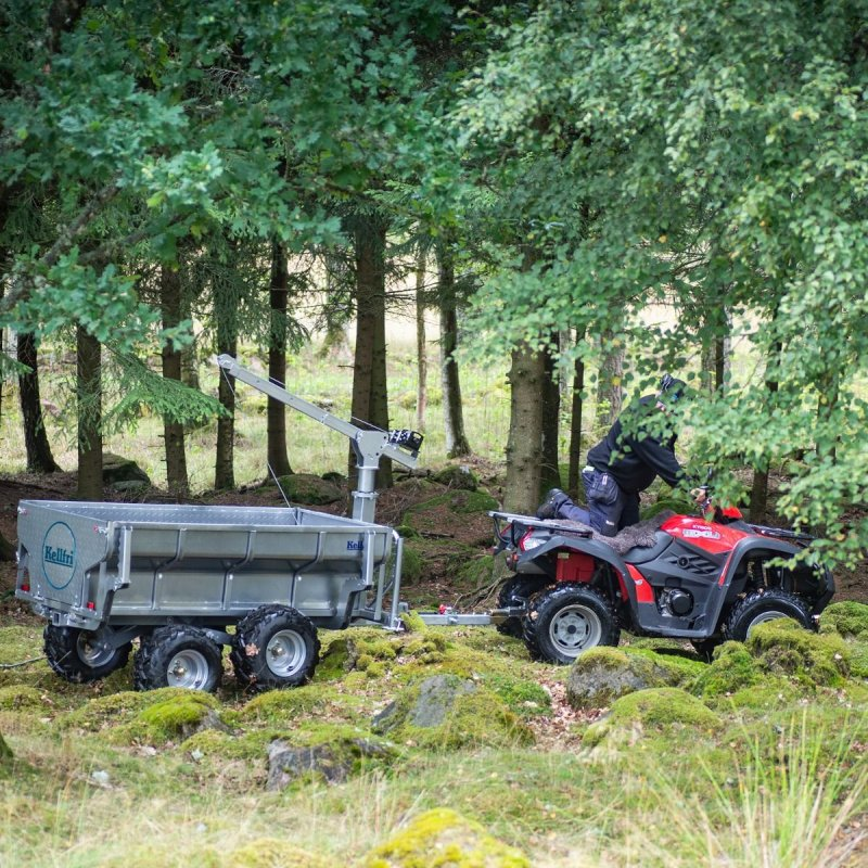 Лесовозный прицеп самосвальный ATV PRO