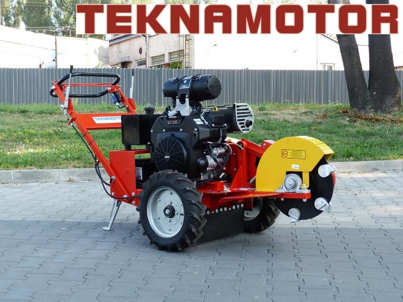 Buy New TEKNAMOTOR Skorpion F400 stump cutter