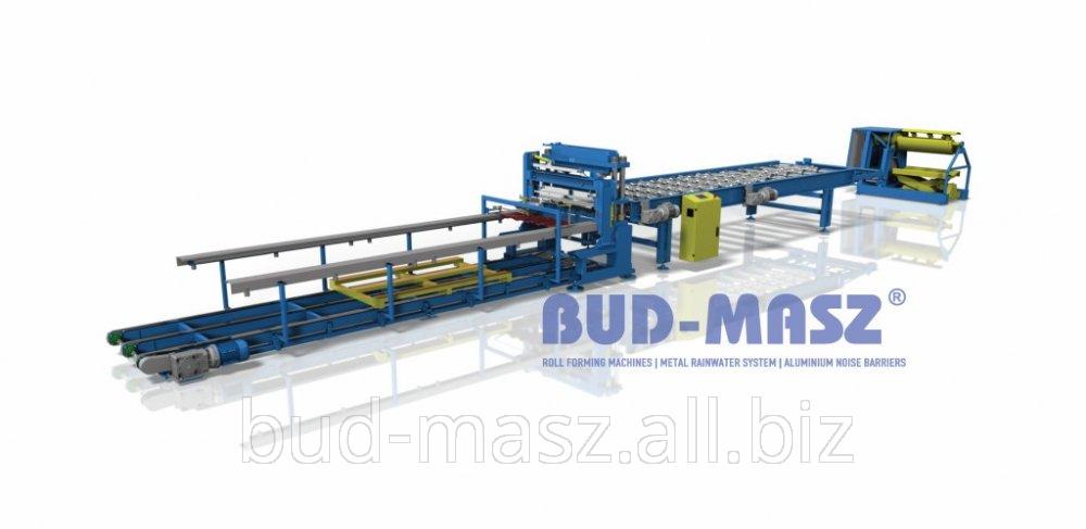 Buy Line for profiling modular metal roof tiles