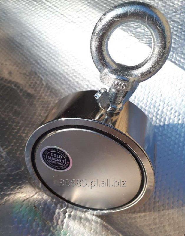 Kupić Magnes neodymowy do poszukiwań magnes dla poszukiwaczy skarbów 350kg