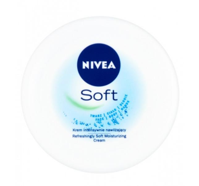 Vásárolni Intenzíven hidratáló arc-, test- és kézkrém Nivea Cream Soft 200 ml