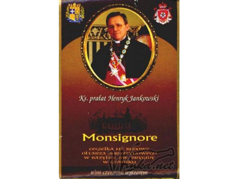 Kupić Wino Monsignore czerwone