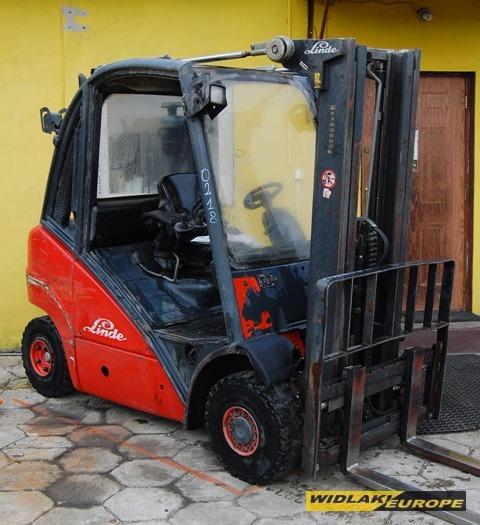 Kupić Wózek widłowy LINDE H25D triplex 2500 kg
